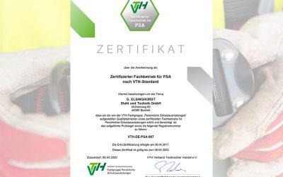 Zertifizierter Arbeitsschutz